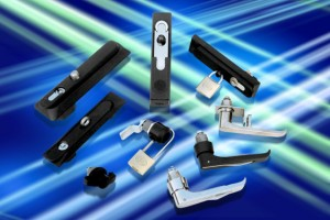 EMKA padlockable enclosure handles for corrosive environments