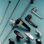 EMKA rod locks, 1/4 turns with L and t handles