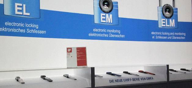 EMKA stand at Hannover 2011