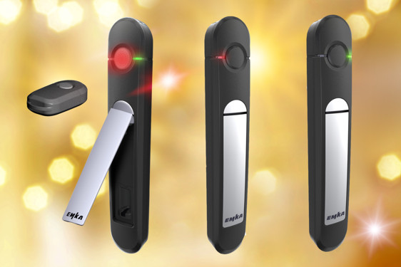 EMKA Agent E remote key and handles