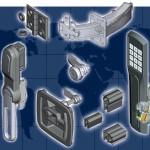 EMKA locks, handles, hinges, sealing strips, wireless locking