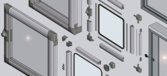 EMKA window and door units for enclosures