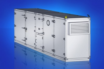 Hardware solutions for HVAC cabinets from EMKA