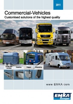 EMKA standard products for commercial vehicles