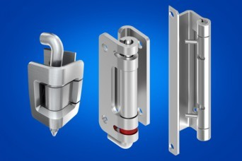 Stainless steel hinges from EMKA UK for enclosures and cabinets