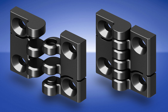 New 1056 Plastic Hinge Features Quick Fit Facility Steel