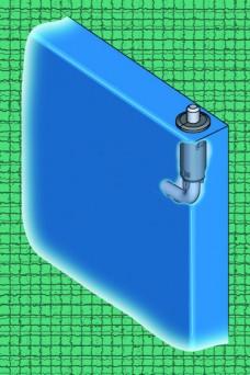 Emka 1117 Pin hinge