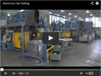 Aluminium die-casting video image