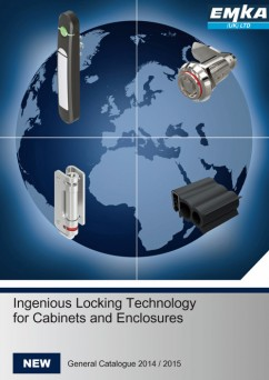 EMKA 2014 catalogue - locking, sealing and hinging technology for cabinets and enclosures
