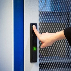 EMKA BioLock - biometric technology at the handle for server security