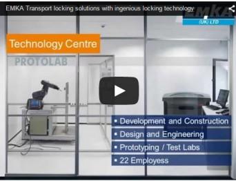 Transport locking solutions video from EMKA UK
