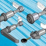 Vibration proof and adjustable compression latches from EMKA