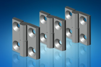 Screw-on, lift-off hinges from EMKA UK for recessed and flush doors