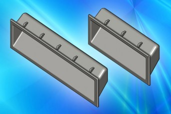 Clip-in pull handles from EMKA for a quick sliding action