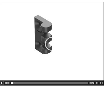 Clip in hinge video from EMKA UK