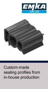 EMKA guide to custom-made sealing profiles from in-house production