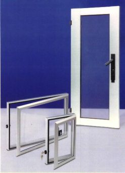Aluminium window and door units from EMKA UK