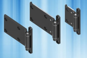 EMKA 180 degree 2D and 3D adjustment screw-on hinges