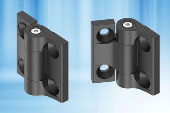 Friction hinges with adjustable torque from EMKA UK