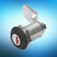 EMKA 1/4 turn lock for transport vehicles take plug-in cylinders