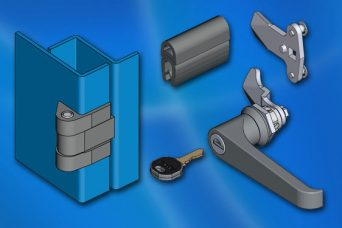 EMKA hardware package for specialist industrial cabinets