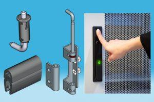 Door panelware and security for server racks from EMKA UK