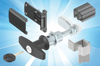 Enclosure hardware from EMKA for Air Conditioning Systems