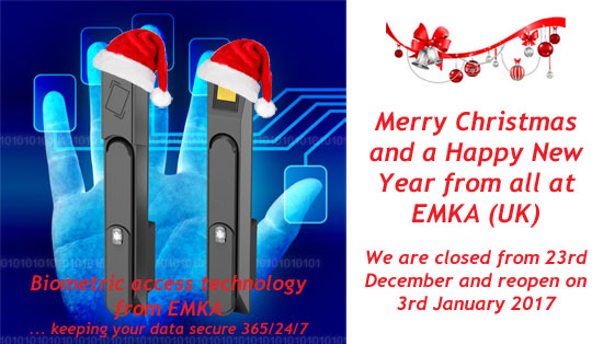 Merry Christmas 2016 from EMKA