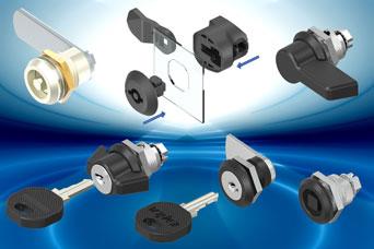 Small and medium quarter-turn latches/locks in the new EMKA catalogue