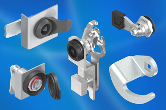 Quarter-turn locks from EMKA - important accessories complete installations