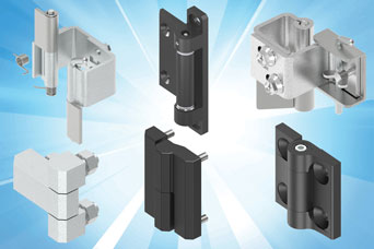 EMKA Hinges for flush cabinet doors offer smooth appearance and better security