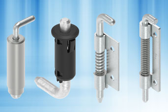 The EMKA Pin Hinge solution for specialist enclosure doors and panels