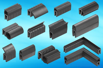 EMKA specialist gasket profiles for enclosures, cabinets, vehicles, HVAC