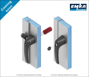 EMKA HVAC compression handle system product sheet