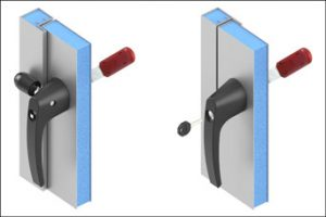 EMKA 1091 handle for HVACR applications