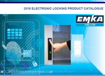 New 2018 Electronic and Biometric Locking Catalogue from EMKA