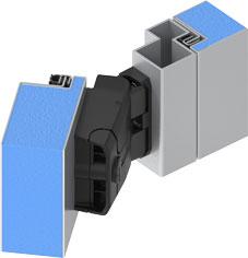 EMKA HInge 180° opening angle