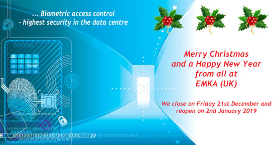 Merry Christmas and a Happy New Year from all at EMKA (UK)