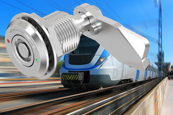 New from EMKA - stainless steel tamper-proof compression latch for railway use