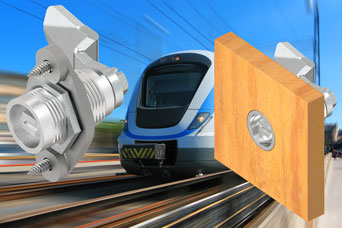 New flush mounting quarter-turn and compression latches from EMKA for railway doors and cabinets