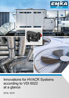 EMKA Innovations for HVACR systems catalogue