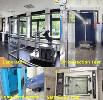 EMKA testing laboratory