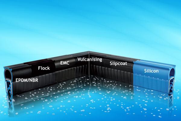 EMKA sealing profiles