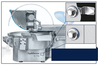 EMKA hygiene locks for food industry equipment