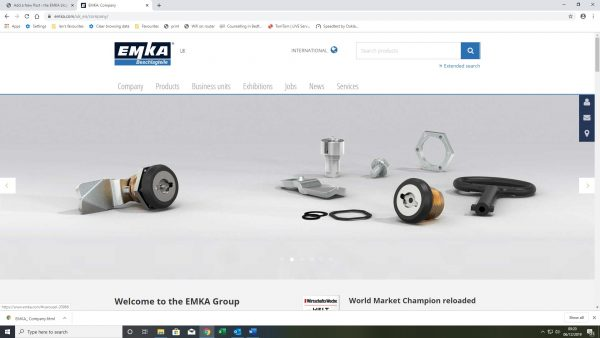 EMKA website new banner
