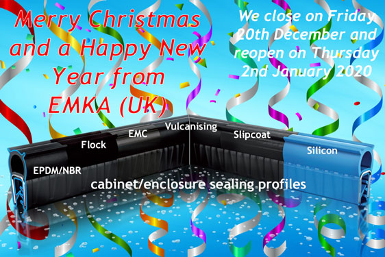 Merry Christmas and a Happy New Year from EMKA (UK)