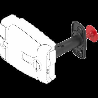 HVAC safety lever from EMKA