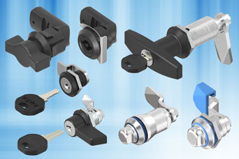 EMKA quarter-turns - simple latches through to keylocks requiring just a quarter-turn to operate