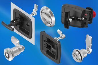 EMKA compression latches - all the convenience of a quarter-turn with the benefit of extra compression