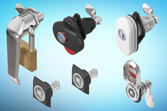 EMKA latch locks for special sectors